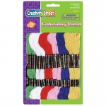 Embroidery Thread 12 Assrtd Colors