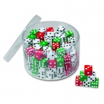Drum Of Dice 144 Pcs