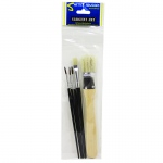 5ct Variety Multi Purpose Brush St