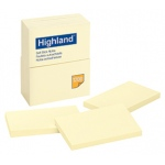 3M Highland Post It Note: 3 x 5