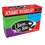 Teacher Created I Have Who Has Games: Academic Vocabulary, Grades 2-3