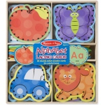 Melissa & Doug Lacing Cards: Alphabet
