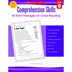 Comprehension Skills Gr 6 40 Short Passages For Close Reading