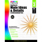 Spectrum Reading Main Ideas & Details In Informational Text Gr 3