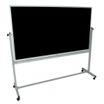 "Luxor Reversable Chalk / White Board: 72"" W x 40"" H"