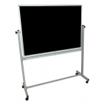 "Luxor 48""W x 36""H Double-Sided Magnetic Whiteboard"