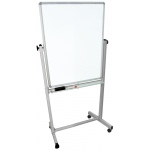 "Luxor 36""W x 48""H Double-Sided Magnetic Whiteboard"