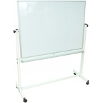 "Luxor Double Sided Magnetic White Board: 48"" x 36"""