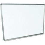 "Luxor 48""W x 36""H Wall-Mounted Magnetic Whiteboard"