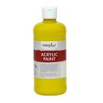 Acrylic Paint 16 Oz Chrome Yellow