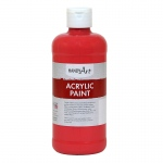 Acrylic Paint 16 Oz Phthalo Red