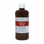Acrylic Paint 16 Oz Burnt Umber