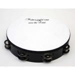 "10"" 'Make a Joyful Noise' Tambourine"