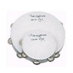 "8"" 'Make a Joyful Noise' Tambourine"