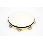 "10"" Tambourine RBI Wood Tambourine with - 7 (pr) Jingles."