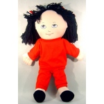 Doll Sweat Suit: Asian Girl