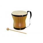 BamBoom Natural Bongo with Strap