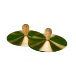 "5"" Solid Brass Cymbals with Knobs (pr)"
