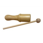 Bamboo Tone Block Small w/ Mallet