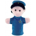 Get Ready Kids Community Helper Puppet: Police Officer, White