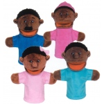 Get Ready Kids Bigmouth Family Puppet: African American Family Puppet