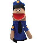 Get Ready Puppet Partners: Hispanic Policeman Puppet