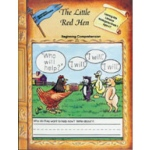 Edcon's Learning with Literature: Little Red Hen, Beginning Comprehension