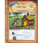 Edcon's Learning with Literature: Three Little Pigs, Reading Writing for Fun