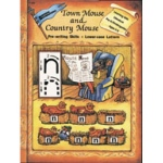 Edcon's Learning with Literature:Town Mouse & Country Mouse, Lowr Case