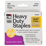 "Extra Heavy Duty Staples: 15/16"", 230 Sheet Capacity"