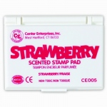 Stamp Pad Scented Strawberry Hot Pink