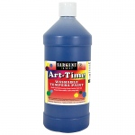 Sargent Art Blue Art-Time Washable Paint 32 Oz