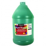 Green Art-Time Washable Paint Glln