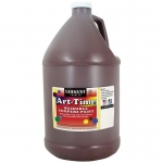 Brown Art-Time Washable Paint Glln