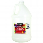 White Art-Time Washable Paint Glln