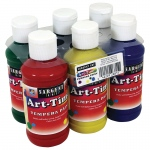Art Time 4oz Tempera 6st Primary Colors