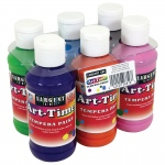 Art Time 4oz Tempera 6st Secondary Colors