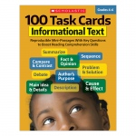 100 Task Cards Informational Text