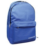 Backpack Blue W/ 2 Large Zipper 1 Front Zipper