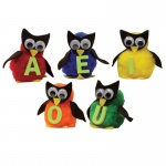 Monkey Mitt Set Vowel Owls