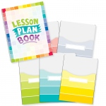 Painted Palette Lesson Plan Book & 9x12 Library Pckt Organizers Combo