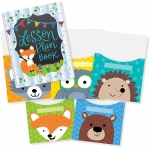 Woodland Friends Lesson Plan Book 9x12 Library Pckt Organizers Combo