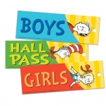 Dr Seuss Classic Hall Passes