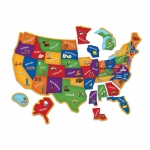 Magnetic Us Map Puzzle