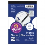 White Note Pads 4x6 150 Ct