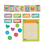 Tape It Up Welcome Bulletin Board