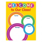 Color Your Classroom Welcome Chart