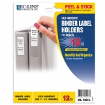 Binder Labels 3/4x2 1/2in Self Adhesive For 1 1/2in Binders