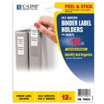 Binder Labels 1 3/4x2 3/4in Self Adhesive For 2in Binders