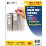 Binder Labels 1 3/4x3 1/4in Self Adhesive For 2-3in Binders
